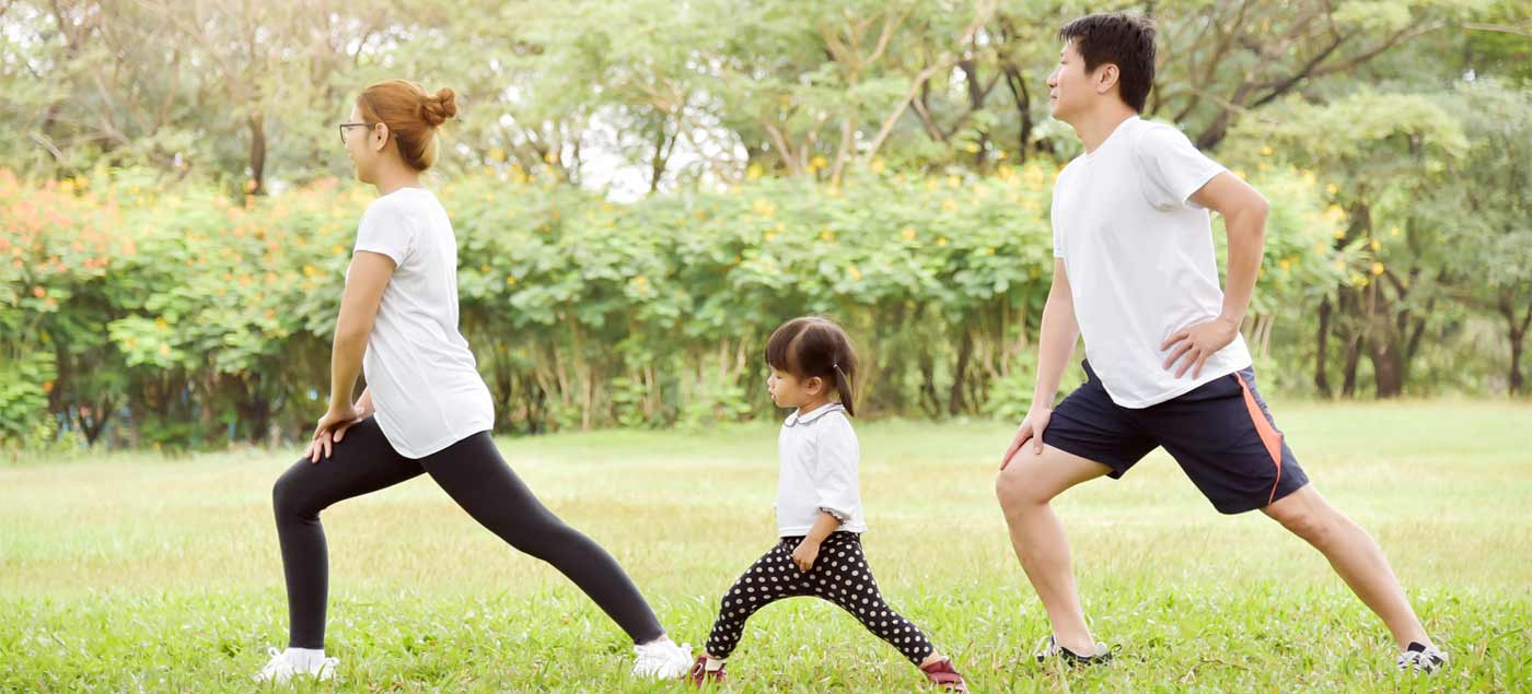 Simple Ways to Keep Exercising with A Toddler at Home